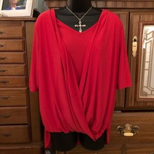 Roz & Ali ladies blouse XL
